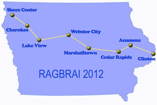 Ragbrai Route Map Html Autos Post