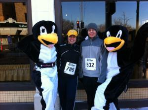 One of Doug and my favorite runs from 2012- The Frozen Buns Run in St. Louis, MO