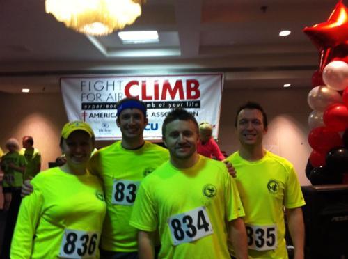 Pre-Climb at registration!