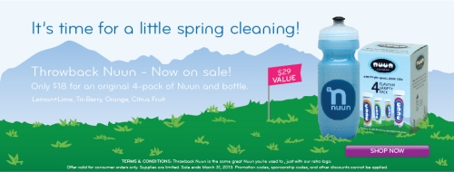 Click here for an awesome sale on Nuun!