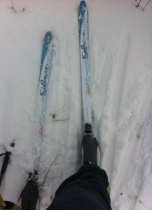 Adventure Foot Cross Country Skis!