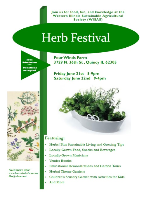 Herb Festival this weekend!