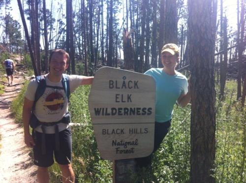 Black Hills National Forest and the Black Elk Wilderness