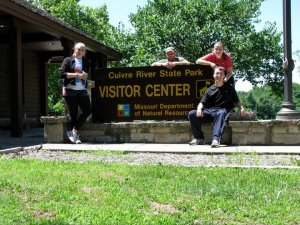 Check the Visitor Center for park rules and regs!