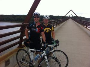 On the High Trestle Bridge